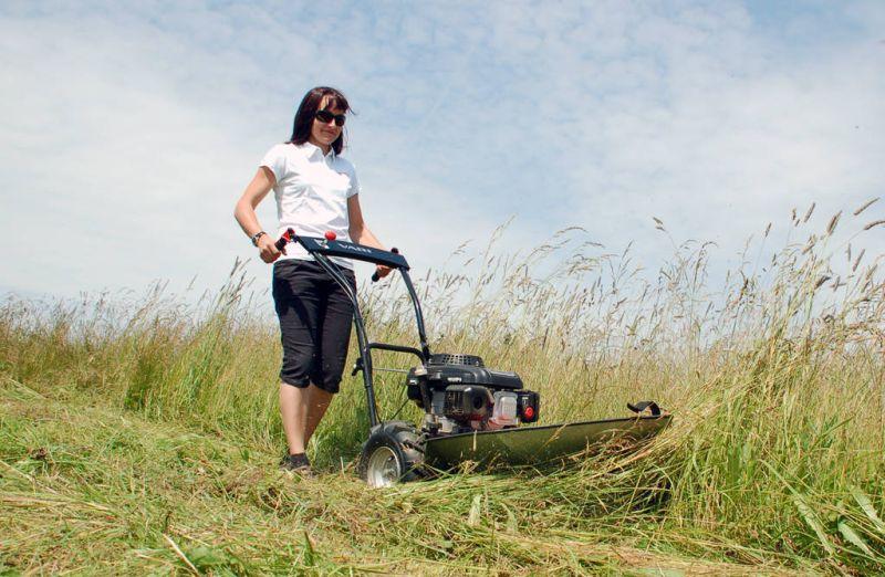 Сенокосилка для высокой травы своими руками 71